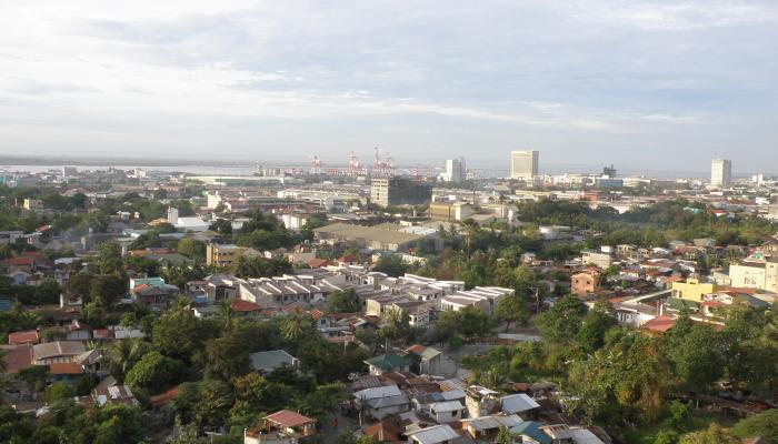 View from Cityscape hotel in Cebu